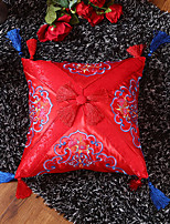 cheap -Pillow Extreme Exquisite Satin Embroidered Chinese Style Small Pillow Include Pillow Core
