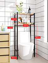 cheap -Toilet Shelf Floor-standing Toilet Storage Rack Free-punched Bathroom Toilet Rack