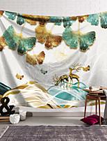 cheap -Wall Tapestry Art Decor Blanket Curtain Hanging Home Bedroom Living Room Decoration Polyester Ginkgo