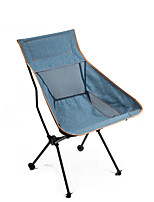 cheap -Camping Chair Multifunctional Portable Breathable Ultra Light (UL) Steel Tube Oxford for 1 person Fishing Beach Camping Autumn / Fall Winter Blue
