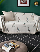 cheap -Sofa Cover Plants Printed Polyester Slipcovers