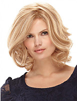 cheap -Synthetic Wig Curly Short Bob Wig Short Light Blonde Synthetic Hair Women's Fashion Comfy Fluffy Blonde