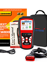 cheap -konnwei kw830 obd2 car diagnostic scanner scanner can detect battery battery al519nt301