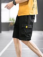 "cheap -Men's Hiking Shorts Hiking Cargo Shorts Summer Outdoor 12"" Ripstop Multi Pockets Breathable Sweat wicking Knee Length Bottoms Black Blue Light Grey Green Work Hunting Fishing M L XL XXL XXXL"