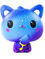cheap -Squishies Slow Rising Ice Cream Cat Jumbo Squishy Kids Toy Kawaii Animal Party Supply