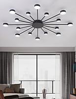 cheap -LED Ceiling Light 93 cm Cluster Design Flush Mount Lights Metal Modern Style Floral Style Painted Finishes Modern Nordic Style 220-240V