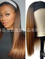 cheap -straight hair wigs headscarf wig headgear cross-border european and american headgear wholesale factory spot wholesale