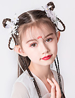 cheap -hanfu headdress pair clip children tassel step hairpin super fairy retro girl antique flower ancient costume golden hair comb