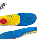 cheap -Shoe Inserts Running Insoles Women's Men's Sports Insoles Foot Supports Shock Absorption Arch Support Stink Prevention for Fitness Gym Workout Running Fall Winter Spring Blue+Yellow / Breathable