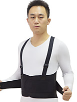 cheap -Work Waist Support Waist Fixing Belt Compression Double Shoulder Straps Waist Protection Breathable Compression Belt