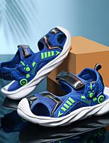 cheap -Boys' Sandals Comfort Pigskin Big Kids(7years +) Daily Water Shoes Upstream Shoes Black Blue Dark Blue Summer