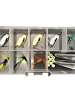 cheap -20 pcs Lure kit Fishing Lures Spoons Flies Floating Sinking Bass Trout Pike Lure Fishing Freshwater and Saltwater