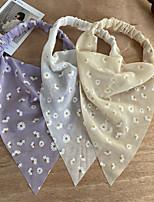 cheap -bohemian hairband  triangle elastic rubber band hair band creative french retro romantic