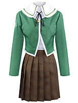 cheap -Inspired by Cosplay Cosplay Anime Cosplay Costumes Japanese Cosplay Suits Coat Blouse Skirt For Women's