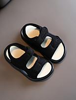 cheap -Unisex Sandals School Shoes Canvas Big Kids(7years +) Black Pink Beige Fall Summer