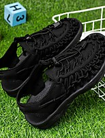 cheap -Boys' Sneakers Comfort PU Lace up Little Kids(4-7ys) Big Kids(7years +) Daily Water Shoes Split Joint White Black Red Spring Summer / Color Block