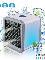 cheap -portable air cooler fan mini usb air conditioner 7 colors light desktop air cooling fan humidifier purifier for office bedroom