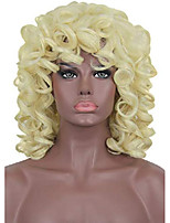 cheap -elim curly kinky wigs for black women short blonde wavy afro bob soft wigs with natural bangs african american womens hair wig with comfortable wig cap z014gd