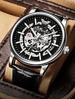 cheap -hollow buckle male pointer steel belt casual mechanical watch male watch