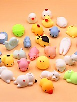 cheap -10 pcs Mini Change Color Squishy Cute Cat Antistress Ball Squeeze Rising Abreact Soft Sticky Stress Relief Toys Funny Gift mochi Toys