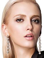 cheap -Women's Drop Earrings Drop Stylish Imitation Pearl Earrings Jewelry Gold For Date Festival 1 Pair