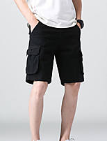 """cheap -Men's Hiking Shorts Hiking Cargo Shorts Summer Outdoor 12"""" Ripstop Quick Dry Multi Pockets Breathable Cotton Knee Length Bottoms Army Green Black Khaki Dark Blue Work Hunting Fishing 28 29 30 31 32"""
