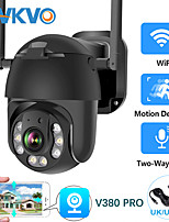 cheap -3mp cctv security wireless ip ptz camera 1080p hd pan tilt 4x digital zoom weatherproof home surveillance dome wifi camera v380