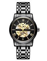 cheap -junjean hollow men's waterproof automatic mechanical watch business fashion watch