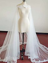 cheap -Sleeveless Elegant & Luxurious / Bridal Polyester Wedding / Party / Evening Women's Wrap With Lace