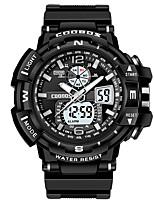 cheap -men's watch waterproof dual display digital watch fashion multifunctional outdoor sports children's watch