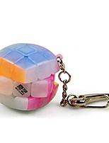 cheap -Qiyi Mini 3x3 Keychain Cube Jelly 3cm Keyring Cube Mofangge Magic Cube Jelly Keychain 3.0 Speed Cube