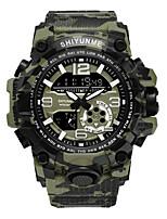 cheap -camouflage outdoor military watch quartz digital dual display men's multifunctional sports waterproof watch