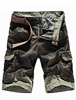 """cheap -Men's Hiking Shorts Hiking Cargo Shorts Military Camo Summer Outdoor 10"""" Ripstop Multi Pockets Breathable Sweat wicking Cotton Knee Length Bottoms Army Green Khaki Work Hunting Fishing 30 32 34 36 38"""