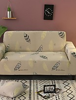 cheap -Feather Print Dustproof All-powerful  Stretch Sofa Cover Super Soft Fabric  with One Free Boster Case