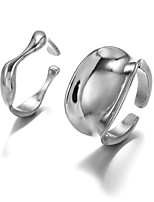cheap -geometry full body open ring combination hand jewelry