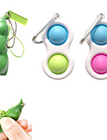 cheap -4 pcs Fidget Sensory Toy Set Stress Relief Toys Autism Anxiety Relief Stress Pop Bubble Fidget Toy For Kids Adults Sensory