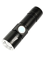 cheap -LED Flashlight LED Hand Torch Light Outdoor Waterproof Aluminum Alloy Outdoor Zoomable Long Shot Flashlight for Riding Camping Hiking Sports Activity