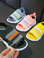 cheap -Unisex Sandals Comfort Princess Shoes School Shoes Elastic Fabric Heelys Shoes Big Kids(7years +) Athletic Daily Walking Shoes Black Yellow Pink Spring Summer