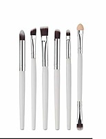 cheap -makeup brush set tools make-up toiletry kit fiber cosmetic brush eye brush (color : white)
