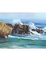 cheap -IARTS Hand Painted tide Oil Painting   with Stretched Frame For Home Decoration