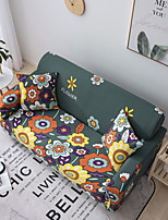 cheap -Sofa Cover Flower Print 1 Pc Couch Cover Furniture Protector Soft Stretch Slipcover Spandex Jacquard Fabric Super Fit for 14 Cushion Couch and L Shape SofaEasy to Install(1 Free Cushion Cover)