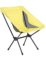 cheap -Camping Chair Multifunctional Portable Breathable Ultra Light (UL) Aluminum Alloy for 1 person Fishing Beach Camping Traveling Autumn / Fall Winter Yellow