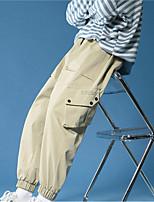 cheap -Men's Work Pants Hiking Cargo Pants Hiking Pants Trousers Summer Outdoor Ripstop Quick Dry Multi Pockets Breathable Bottoms Black Khaki Work Hunting Fishing M L XL XXL XXXL