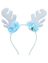 cheap -2019 new pre-sale christmas headband snowflake sequins elk antler headband creative headdress holiday jewelry wholesale