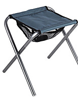 cheap -Camping Stool Multifunctional Portable Breathable Ultra Light (UL) Aluminum Alloy for 1 person Fishing Beach Camping Traveling Autumn / Fall Winter Grey