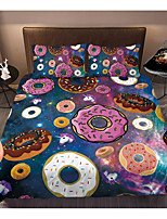 cheap -Colorful Tie Dye Duvet Cover Set Boho Hippie Bedding Set Rainbow Tie Dyed Comforter Cover Queen 3 Pieces for Kids Teens Adults 1