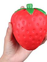cheap -4.7 Inch Squishies 1PCS Jumbo Slow Rising Kawaii Cream Scent Squishies Strawberry