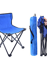 cheap -Camping Chair Portable Ultra Light (UL) Foldable Breathable Oxford for 1 person Fishing Beach Camping Autumn / Fall Winter Random Colors / Comfortable