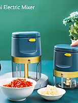 cheap -Mini Electric Meat Grinder Rechargeable Household Electric Vegetable Cutter Kitchen Garlic Masher Push-type Cooking Machine