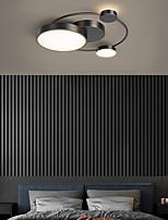 cheap -LED Ceiling Light Round Black Gold 45 cm Geometric Shapes Flush Mount Lights Aluminum Artistic Style Stylish Painted Finishes Artistic LED 220-240V
